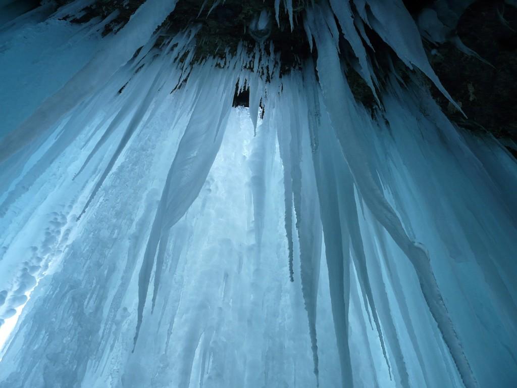 ledovová jeskyně Hintertux